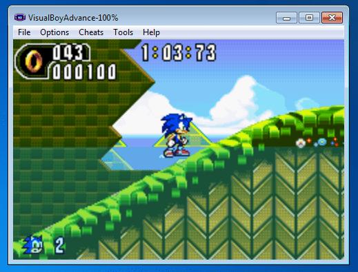 Visual Boy Advance GBA emulator